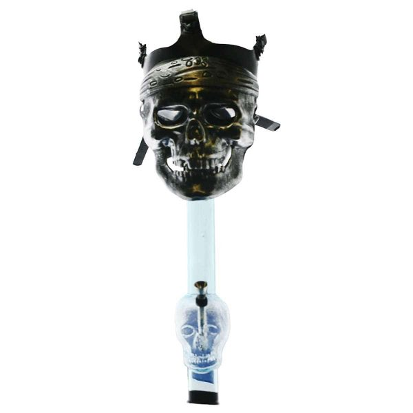 Spike Gas Mask bong
